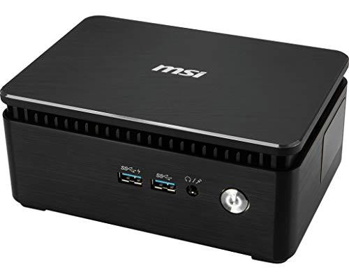 MSI Cubi 3 Silent S-031BEU - Ordenador de sobremesa Barebone (Intel Core i7-7500U, Intel HD Graphics, sin Sistema operativo) Negro