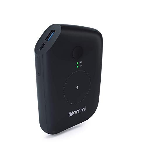 Nommi: Mobile Hotspot | Secured 4G LTE Unlocked Wi-Fi Hotspot Device | Pay-as-You-Go Portable MiFi Hotspot | 10GB US Data + VPN | Wi-Fi Extender | eSIM/SIM in 150 Countries | 10000 mAh Power Bank