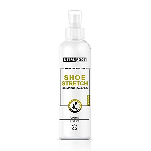 VITAL FOOT - Élasticité Stretch Suédé Daim Nubuck Dilatateur Chaussure Cuir - 100 ml