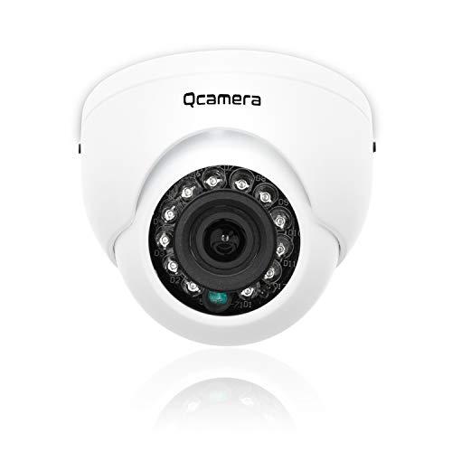 Q-camera Mini Dome Telecamera di Sicurezza 1080P 2MP 4 In 1 TVI/CVI/AHD/CVBS 1/2.9' Sensore 2.8mm Lens 33Ft IR Visione Notturna Sistema Di Sorveglianza Telecamera Per Interni