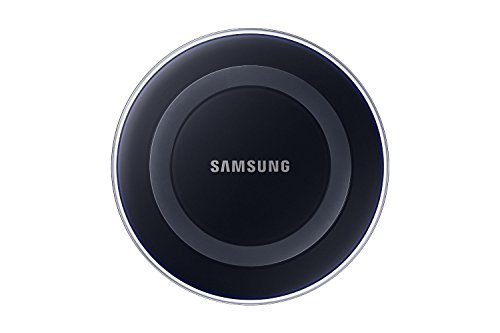Samsung Qi Certified Wireless Charging Pad with 2A Wall Charger- Supports wireless charging on Qi compatible smartphones including the Samsung Galaxy S8, S8+, Note 8, Apple iPhone 8, iPhone 8 Plus, and iPhone X (US Version) - Black Sapphire
