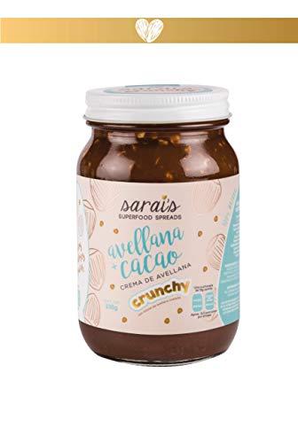 Sarai s Crema de Avellana con Cacao Crunchy Sin Azúcar