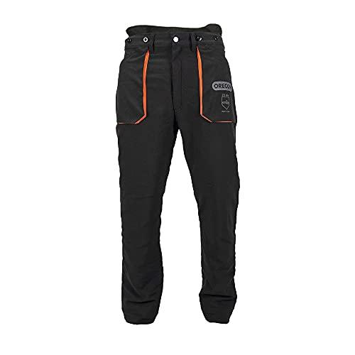 Oregon Yukon Pantaloni Protettivi Adatti all'utilizzo della Motosega, Tipo di Protezione A, Classe 1, Taglia Media (EU 46-48)