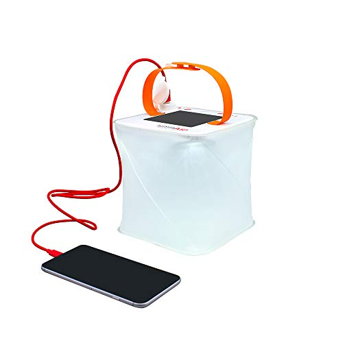 LuminAID PackLite Max 2-in-1 Camping Lantern and Phone Charger