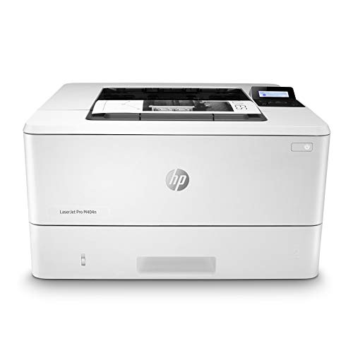 HP LaserJet Pro M404n Laser Printer with Built-in Ethernet & Security Features, Amazon Dash replenishment ready (W1A52A),Black