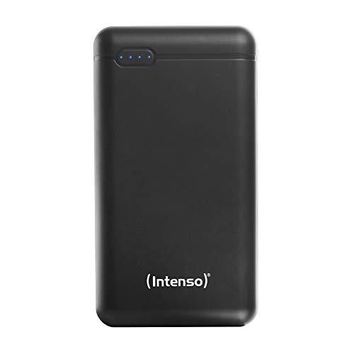 Intenso Power Bank XS20000 Portable Charger, External Battery (20000mAh, for Smartphones, Tablets and more), Black