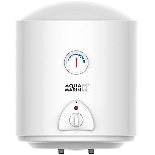 Aquamarin® Chauffe-Eau Électrique - Réservoir avec Capacité de 30/50/80/100 Litres, Puissance 1500W, Thermostat à 75° C - Ballon d'Eau Chaude, Chaudière Électrique