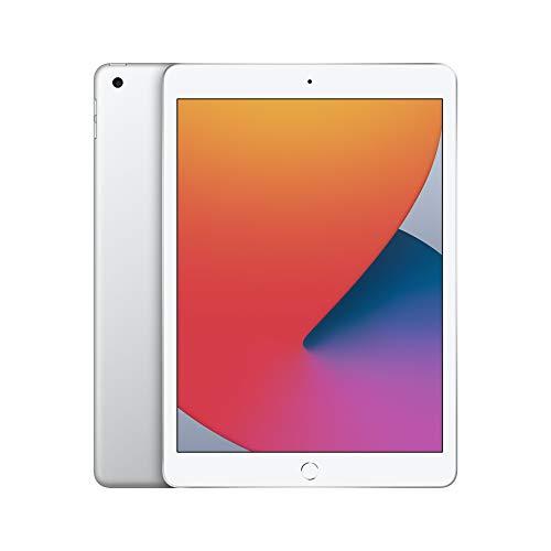 2020 Apple iPad (10.2-inch, Wi-Fi, 32GB) - Silver (8th Generation)