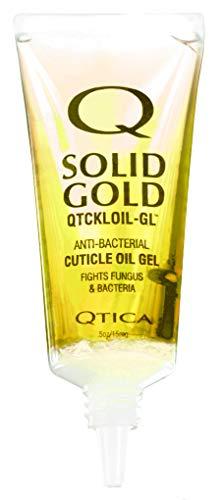 Qtica Solid Gold Cuticle Oil Gel, 0.5 oz