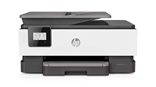 HP OfficeJet Pro 8012, Stampante Multifunzione a Getto di Inchiostro, Scanner e Fotocopiatrice, ADF,...