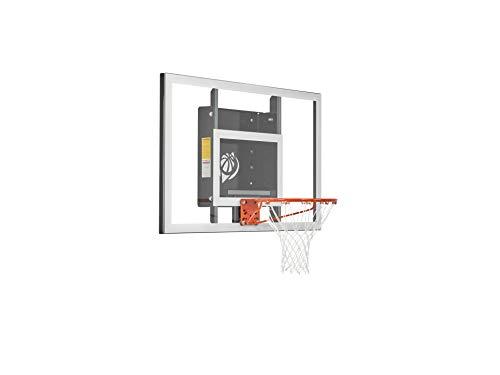 Goalsetter 54' Baseline Tempered Glass Backboard Basketball Hoop with HD Breakaway Rim