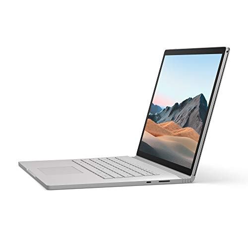 Microsoft Surface Book 3 Notebook Convertibile da 15', Core i7, RAM 16 GB, SDD 256 GB, Platino...