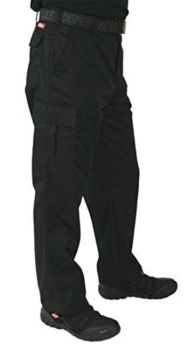 Lee Cooper 205 Herren Arbeitshose, lange Hose, Schwarz, 34W / 32L