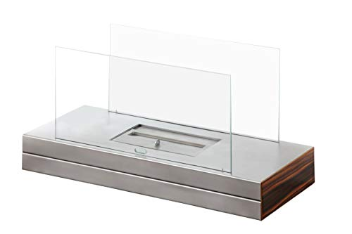 Muenkel Design Plain Fire [Ethanol Table Fireplace Premiu Steel Matte