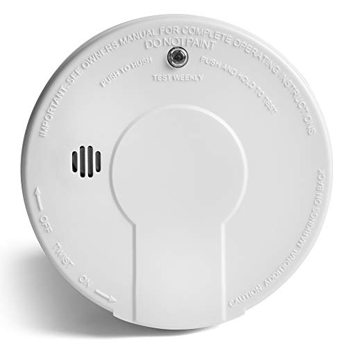 Kidde - 21026051 Smoke Detector Alarm | Battery Operated | Model # i9050