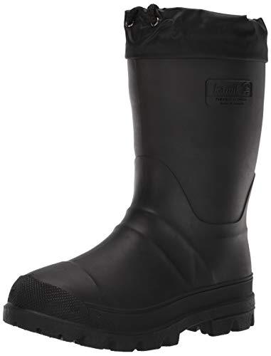Kamik Men's Hunter Snow Boot, Black, 8 M US