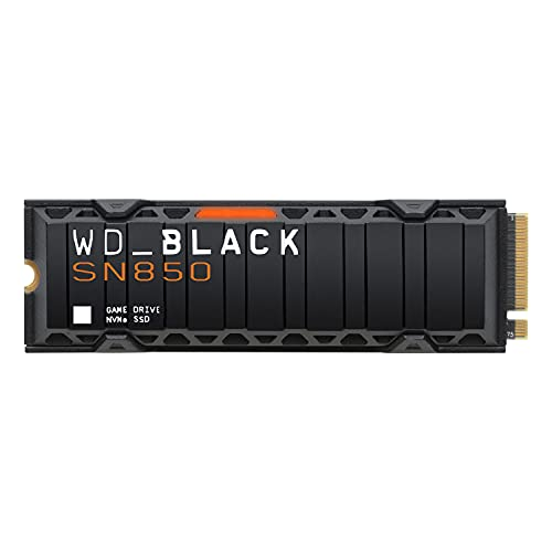 WD_BLACK 1TB SN850 NVMe Internal Gaming SSD Solid State Drive with Heatsink - Works with Playst…