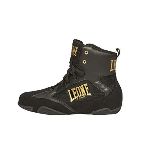 Leone 1947 Premium - Zapatillas de Boxeo Unisex, Unisex Adulto, Negro, 43 EU