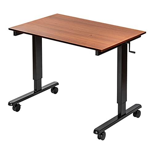 7. Crank Adjustable Sit to Stand Up Desk