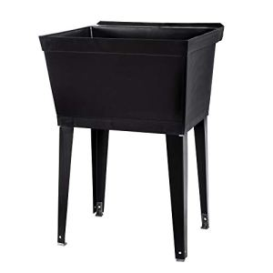 19 Gallon Utility Sink Laundry Tub by JS Jackson Supplies with Adjustable...