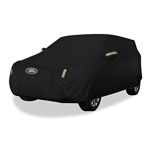 Car cover Compatible with Range Rover Sport Car Cover SUV Thick Oxford Cloth Sun Protection Rainproof Warm Cover Car Cover (Size : Oxford cloth - built-in lint)