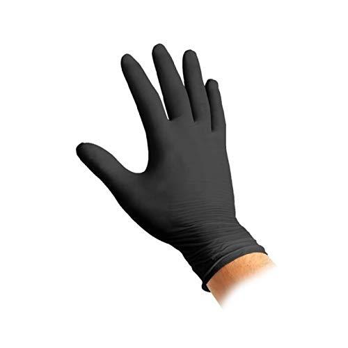 Guanti nitrile Black Nitro M 100 pz