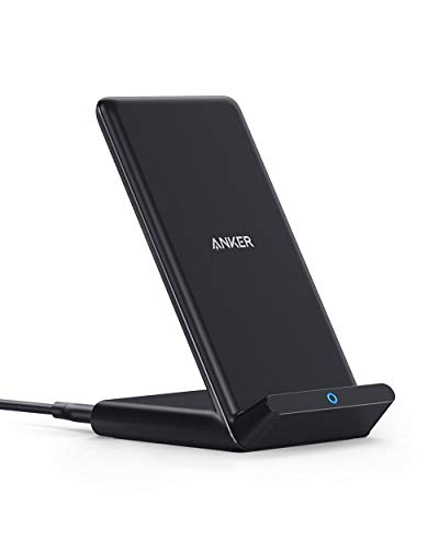 Anker PowerWave 10W Stand Caricabatterie Wireless,...