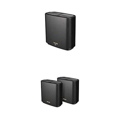 ASUS-ZenWiFi-AX-Whole-Home-Tri-Band-Mesh-WiFi-6-System-Black-3-Pack-Coverage-up-to-5500-sqft-or-6Rooms-66Gbps-WiFi-3-SSIDs-Life-time-Free-Network-Security-and-Parental-Controls-25G-Port
