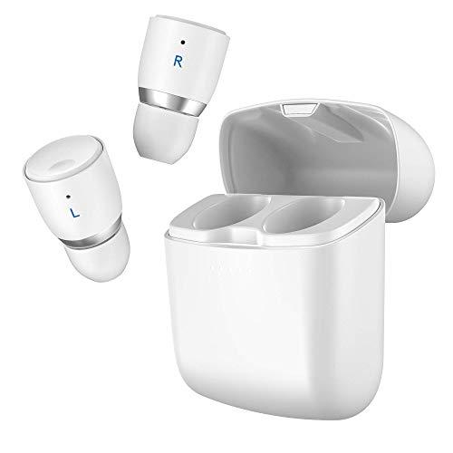 Cambridge Audio Melomania 1+ True Wireless Earbuds - Bluetooth 5.0, Hi-Fi Sound, In Ear Kopfhörer für iPhone und Android mit Ladecase und App-Steuerung (Weiß)