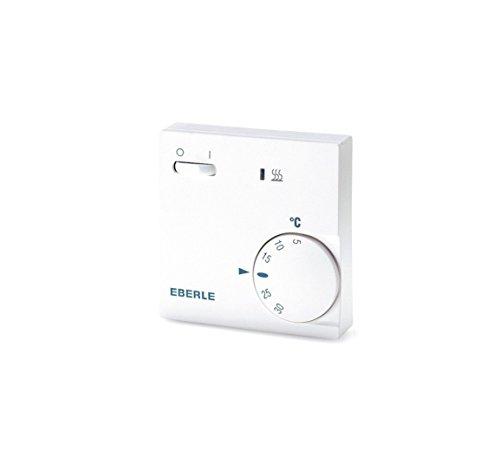 Eberle 111110451100 / RTR E 6202 Thermostat Avec interrupteur on/off et témoin LED (Import Allemagne)