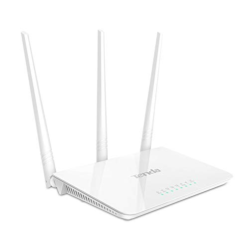 Tenda F3 Fast Ethernet White - wireless routers...