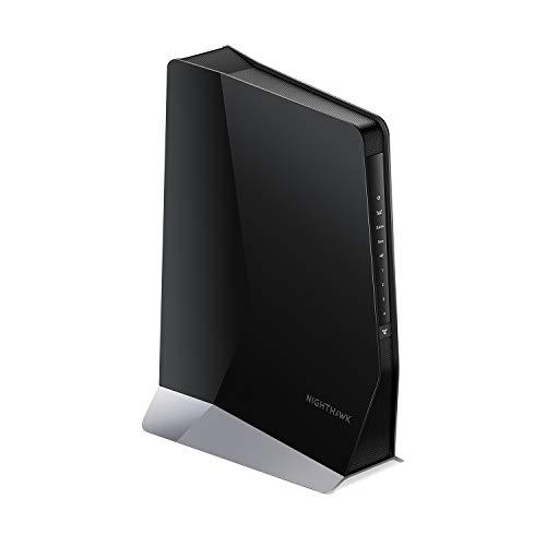 Netgear EAX80 Ripetitore WiFi Mesh AX3000, Access Point WiFi 6, 4 Porte LAN e 8 Stream, Compatibile...