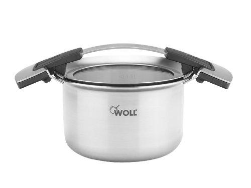 WOLL Pentola in acciaio INOX con coperchio Concept Pro, 16 cm