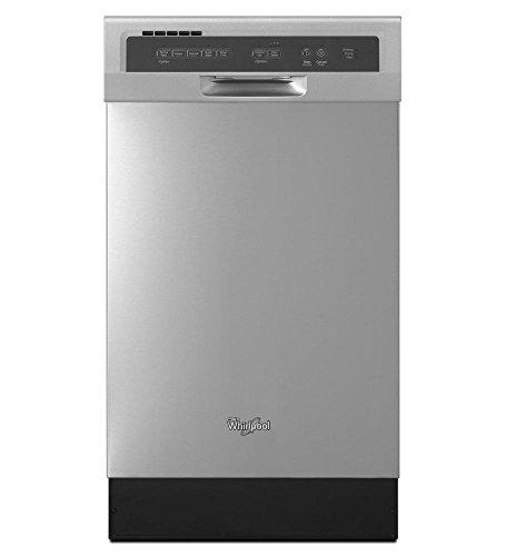 Lavavajillas de Cocina Whirlpool 8 servicios WDF518SAFM de 45 cms en Acero Inoxidable