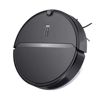 Aspirateur Robot Roborock E4 Black Commande par Application, Compatible avec Alexa dAmazon, Compatible avec Google Home