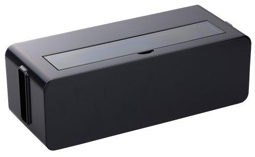 イノマタ化学 テーブルタップボックス ブラック Lサイズ