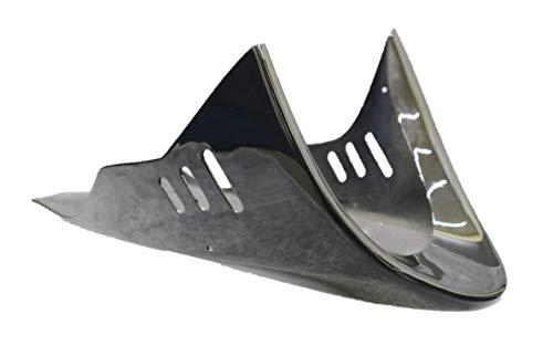 アンダーカウル 小型 黒 ABS ステー(汎用)付/ブラック 小型 ミニバイク 等に