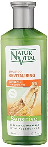 NaturVital Champú Sensitive Revitalizante con Ginseng - 300