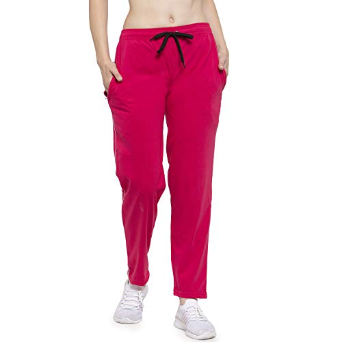 UZARUS Women's Skinny Fit Track Pants