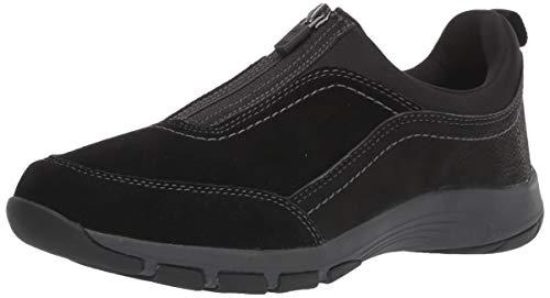 Easy Spirit Women's CAVE Sneaker, Black, 7 M US