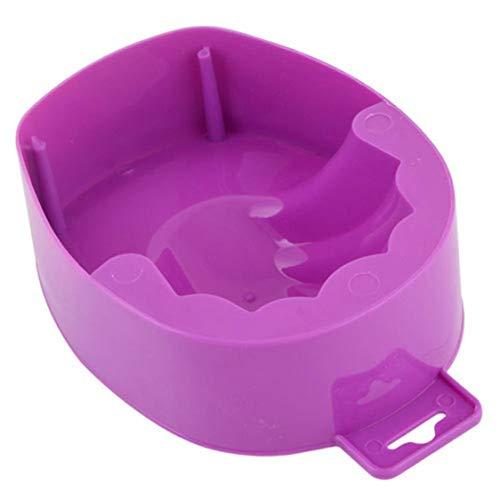Nail Tools Dead Skin Reinigung Nursing Bowl Fingernagel Geile Hände EIN- und Doppelschicht-Handschalen - Lila