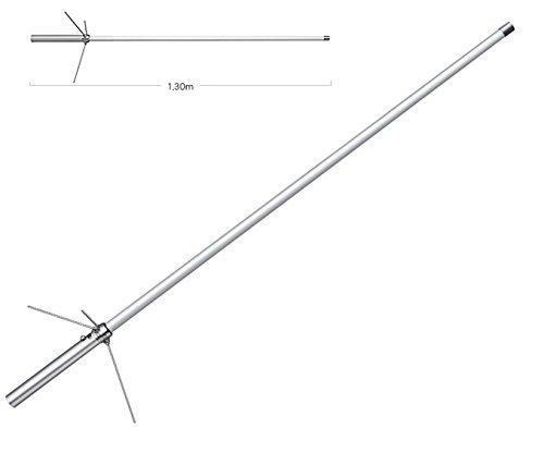第一電波工業 ダイヤモンド X30 144/430MHz帯高利得2バンドグランドプレーン