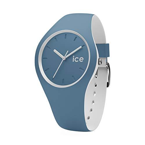 ICE-WATCH - ICE duo Bluestone - Men's (Unisex) wristwatch with silicon strap - 001496 (Medium)