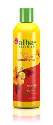 NatÌ_rliche Hawaiian Conditioner, Body Builder Mango, 12 oz (340 g) - Alba Botanica