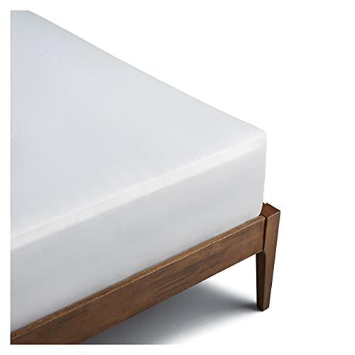 Coop Home Goods Mattress Protector Cover - Waterproof, Ultra Soft Breathable Bed Mattress Topper - Silent Mattress Pad Encasement - Oeko-TEX Certified Lulltra Fabric - Queen