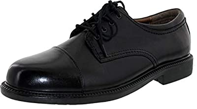 Polished full grain leather uppers Padded collars add an extra layer of comfort Flexible construction for all day wear Accepted by the American Podiatric Medical Association for quality and effectiveness in allowing for normal foot function and promo...