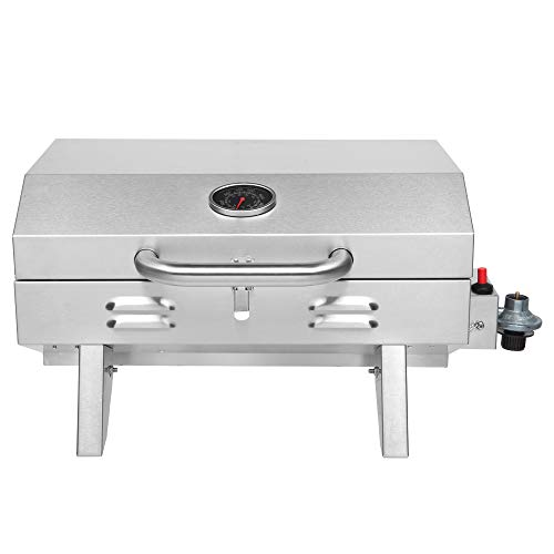 Product Image 1: ROVSUN Portable Propane Gas Grill 12,000BTU, Tabletop Outdoor Cooking Grill for Picnic Camping Tailgating Patio Garden BBQ, <a href=