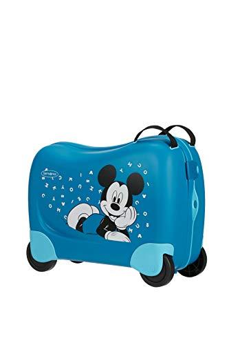 Samsonite Dream Rider Disney Valigia per Bambini, 51 cm, 28 L, Blu (Mickey Letters)