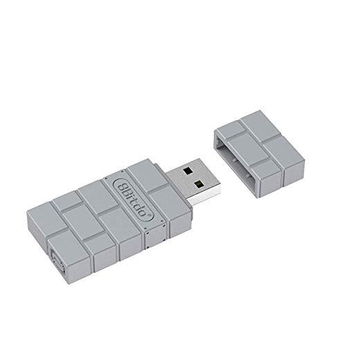 QUMOX 8Bitdo Adattatore Wireless USB per PS Classic/Windows/Mac/Raspberry Pi/Switch