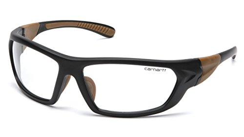 Carhartt Carbondale Safety Glasses with Clear Lens